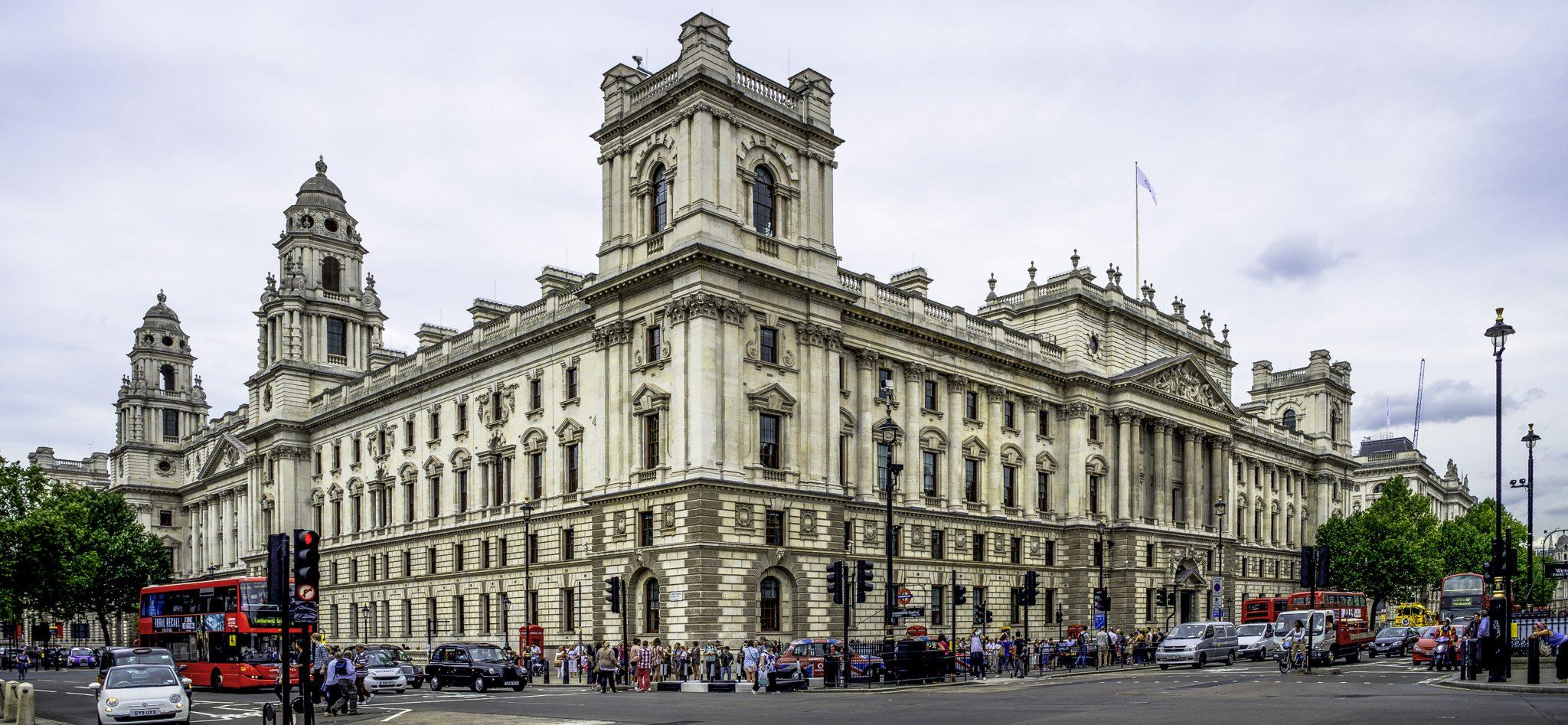 HM Treasury stock photo