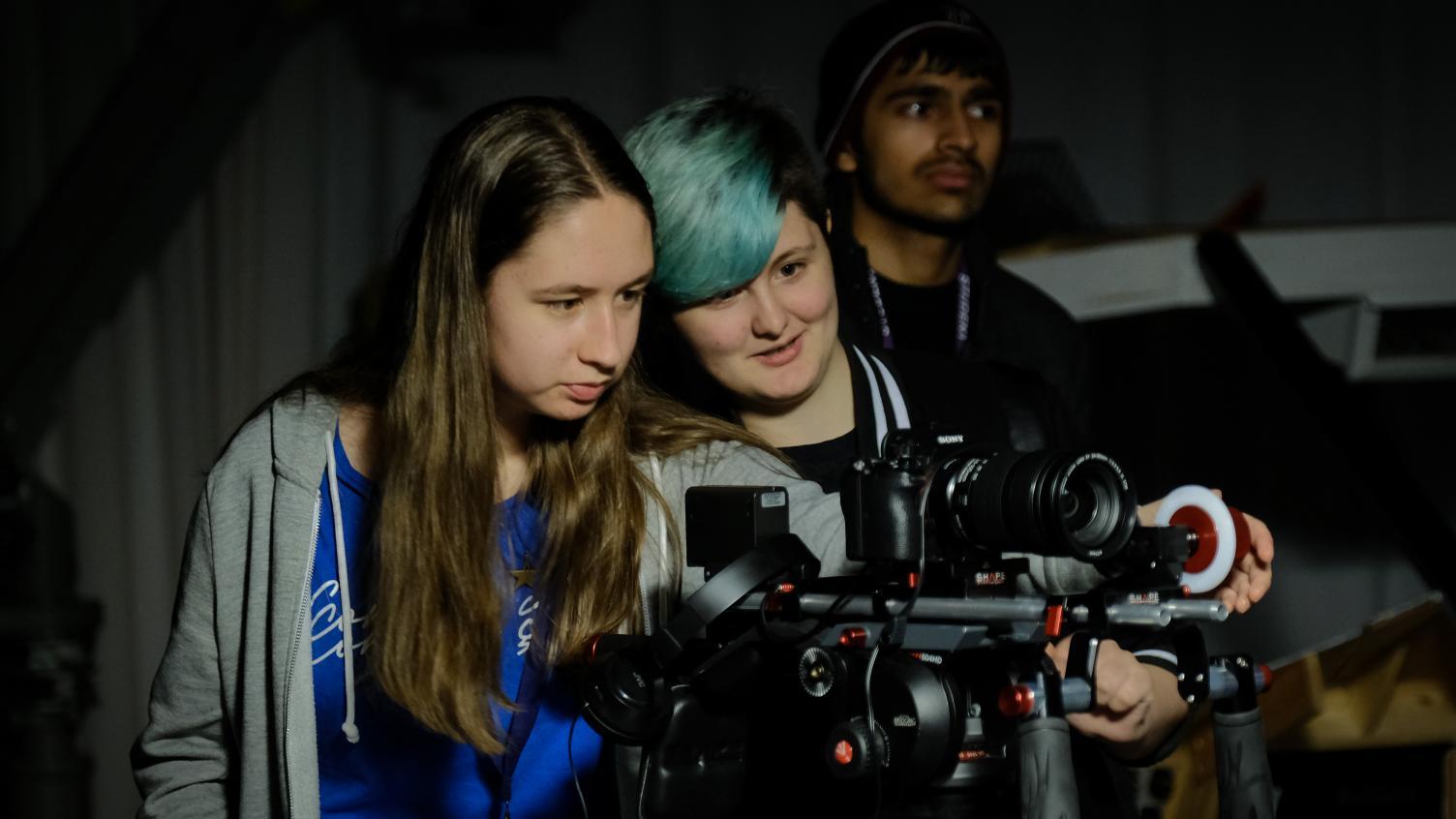 bfi-film-academy-bradford-two-behind-camera